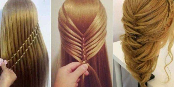 بالصور تسريحات شعر بسيطة , اجمل تسريحات الشعر الجذابة 5769 3