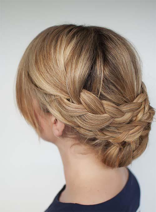 بالصور تسريحات شعر بسيطة , اجمل تسريحات الشعر الجذابة 5769 8