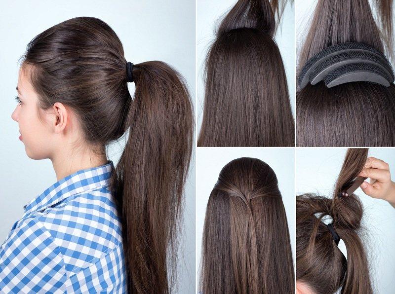 بالصور تسريحات شعر بسيطة , اجمل تسريحات الشعر الجذابة 5769 9