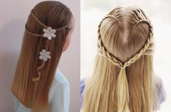 صورة تسريحات شعر بسيطة , اجمل تسريحات الشعر الجذابة