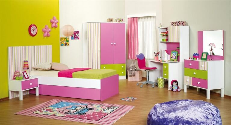 بالصور غرف نوم اطفال بنات , اجمل غرف نوم للبنات 5865 3
