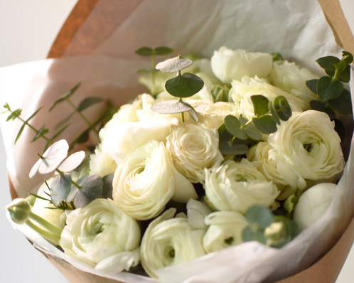 صورة بوكيه ورد ابيض , ورود بيضاء جميله