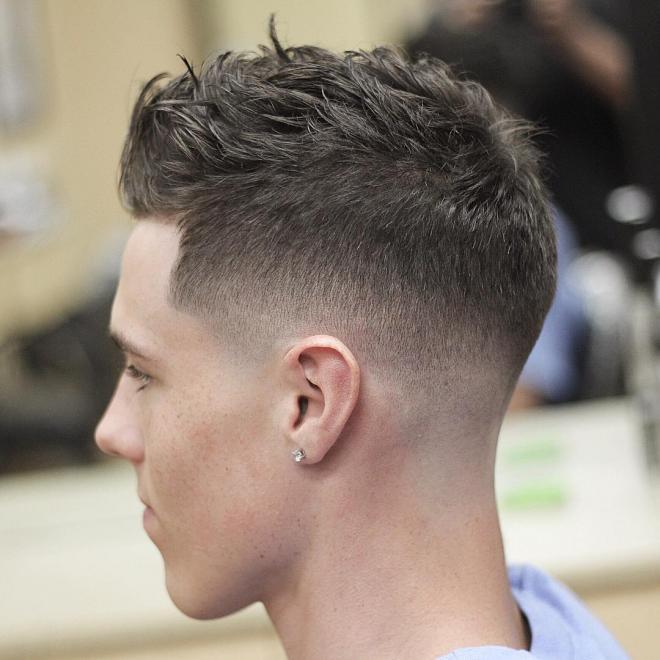 بالصور قصات شعر للرجال , احدث صيحات الشعر للرجال 2296 1