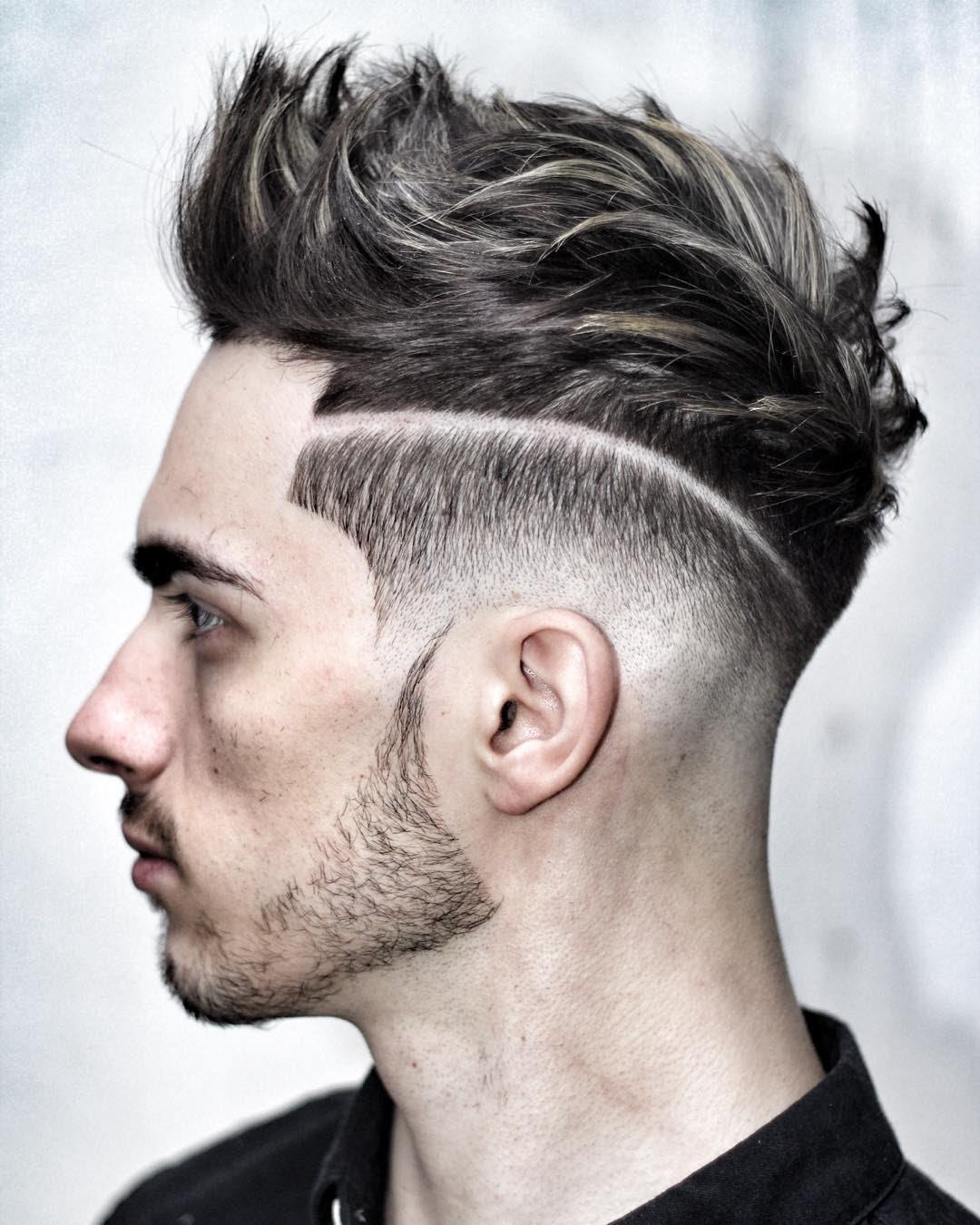 بالصور قصات شعر للرجال , احدث صيحات الشعر للرجال 2296 2