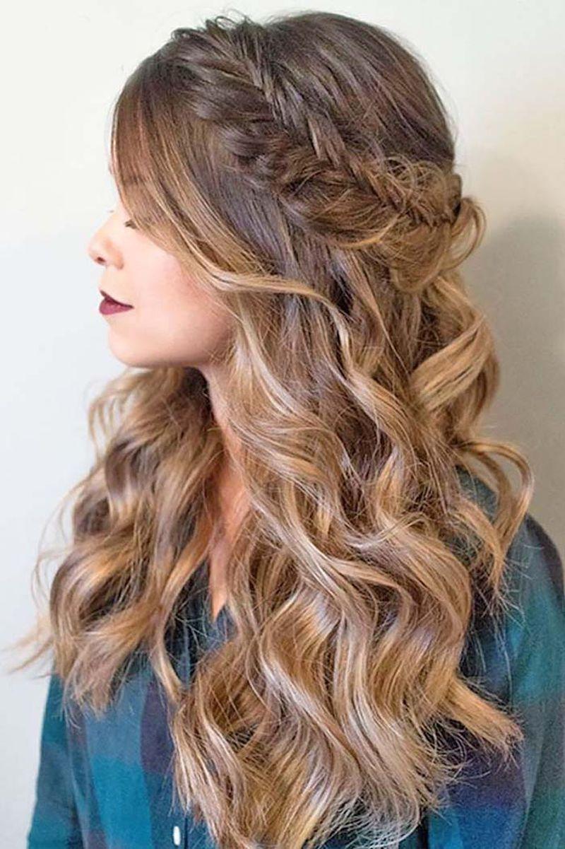 صورة تسريحات الشعر الطويل , اجمل تسريحات للشعر