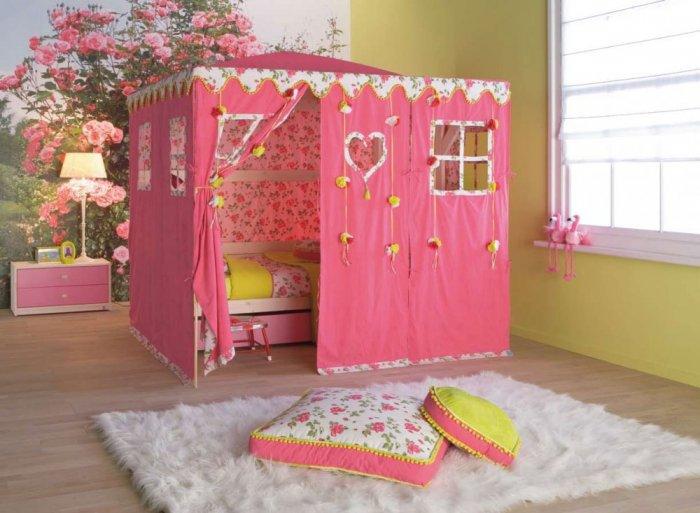 بالصور غرف نوم بنات اطفال , احدث غرف بنات 2505 1