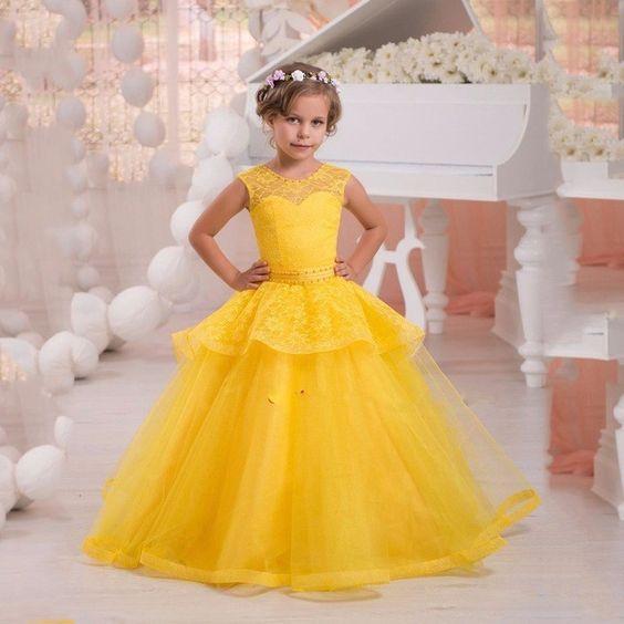 بالصور موديلات فساتين اطفال , احدث موديلات لملابس الاطفال 2650 6