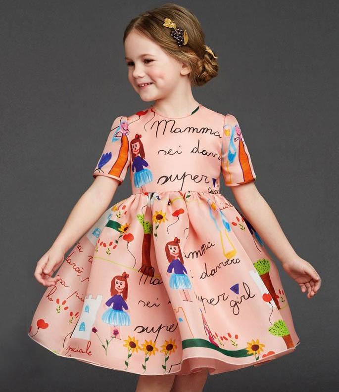 صور موديلات فساتين اطفال , احدث موديلات لملابس الاطفال