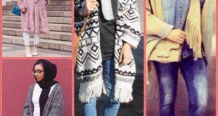 صوره ملابس شتوية للمحجبات , احدث ملابس الشتاء للمحجبات