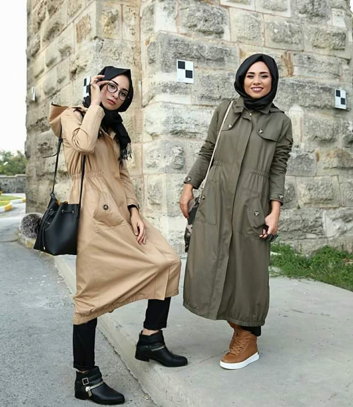 صورة ملابس شتوية للمحجبات , احدث ملابس الشتاء للمحجبات 2674 3