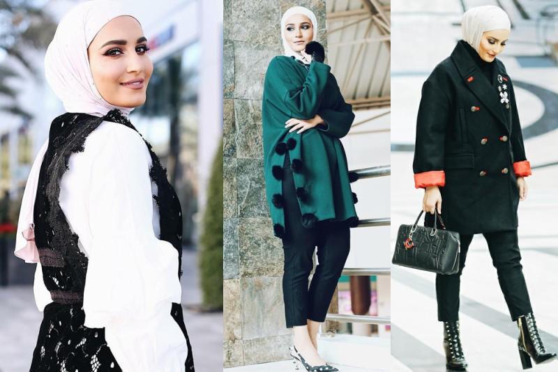 صورة ملابس شتوية للمحجبات , احدث ملابس الشتاء للمحجبات 2674 4