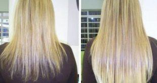 صور خلطات تطويل الشعر , وصفات لفرد وتنعيم الشعر
