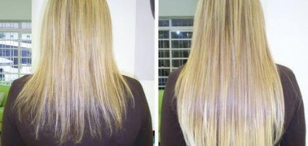 صورة خلطات تطويل الشعر , وصفات لفرد وتنعيم الشعر