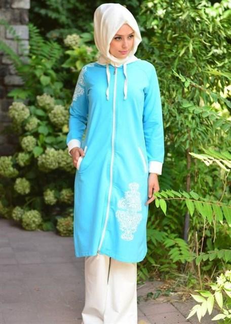 بالصور ملابس رياضية للمحجبات , اطلالات مريحة لملابس محجبات للرياضة 2766 10