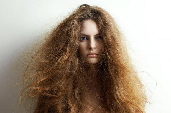 صورة علاج الشعر الجاف , كيفية علاج الشعر الجاف