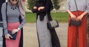 صور تنسيق الملابس للمحجبات , افكار مختلفة لتنسيق ملابس المحجبات