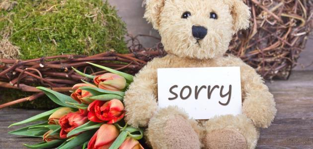 بالصور رسالة اعتذار لصديق , اروع عبارات الاسف للصديق 3837 7
