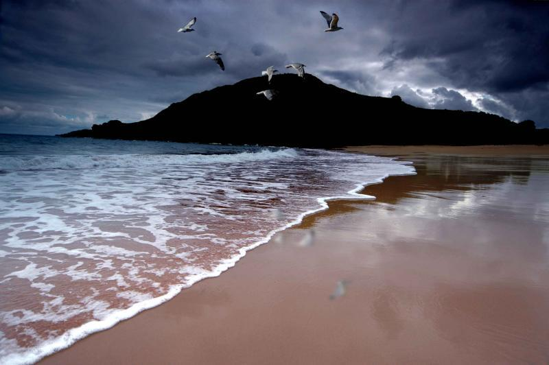 بالصور خلفيات بحر , خلفيات بحر في اوقات مختلفة 3997 11