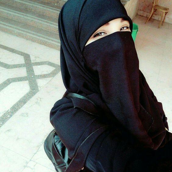 بالصور صور بنات منقبات , صوره بنت منقبه 4146 6