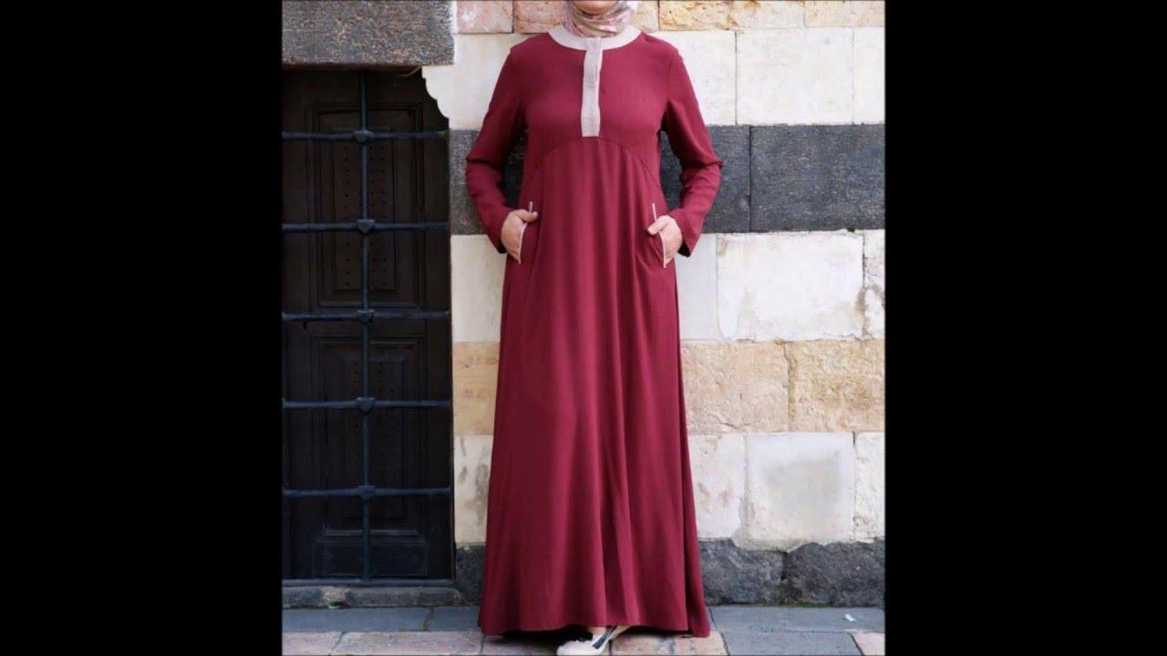 صورة موديلات حجابات جزائرية مخيطة , اروع تشكيله موديلات حجاب جزائرى