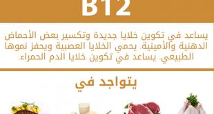 بالصور ما هو فيتامين b12 , تعرف على فيتامين ب12 و اهميتة لجسم الانسان 4370 3.jpg 310x165