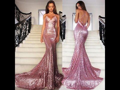 بالصور اخر موديلات الفساتين , احلي صور فساتين 4984 10