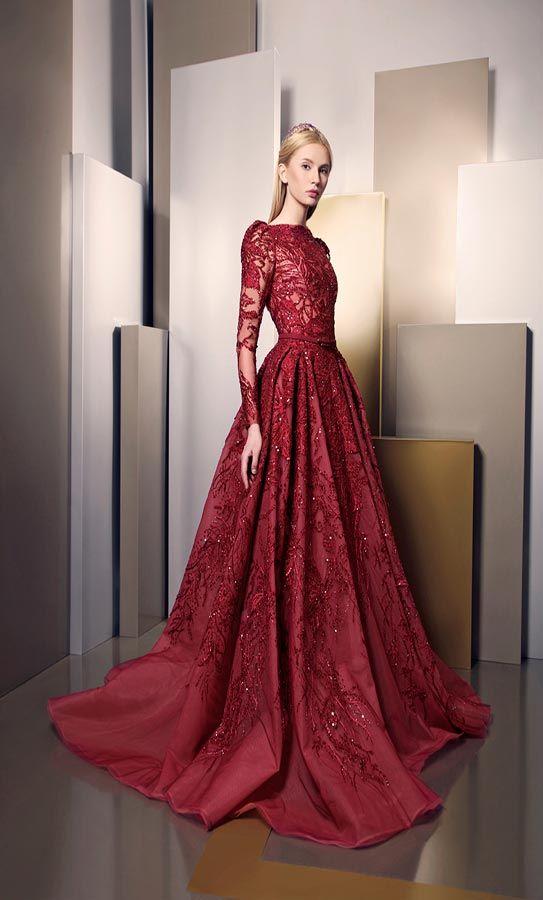 بالصور اخر موديلات الفساتين , احلي صور فساتين 4984 3