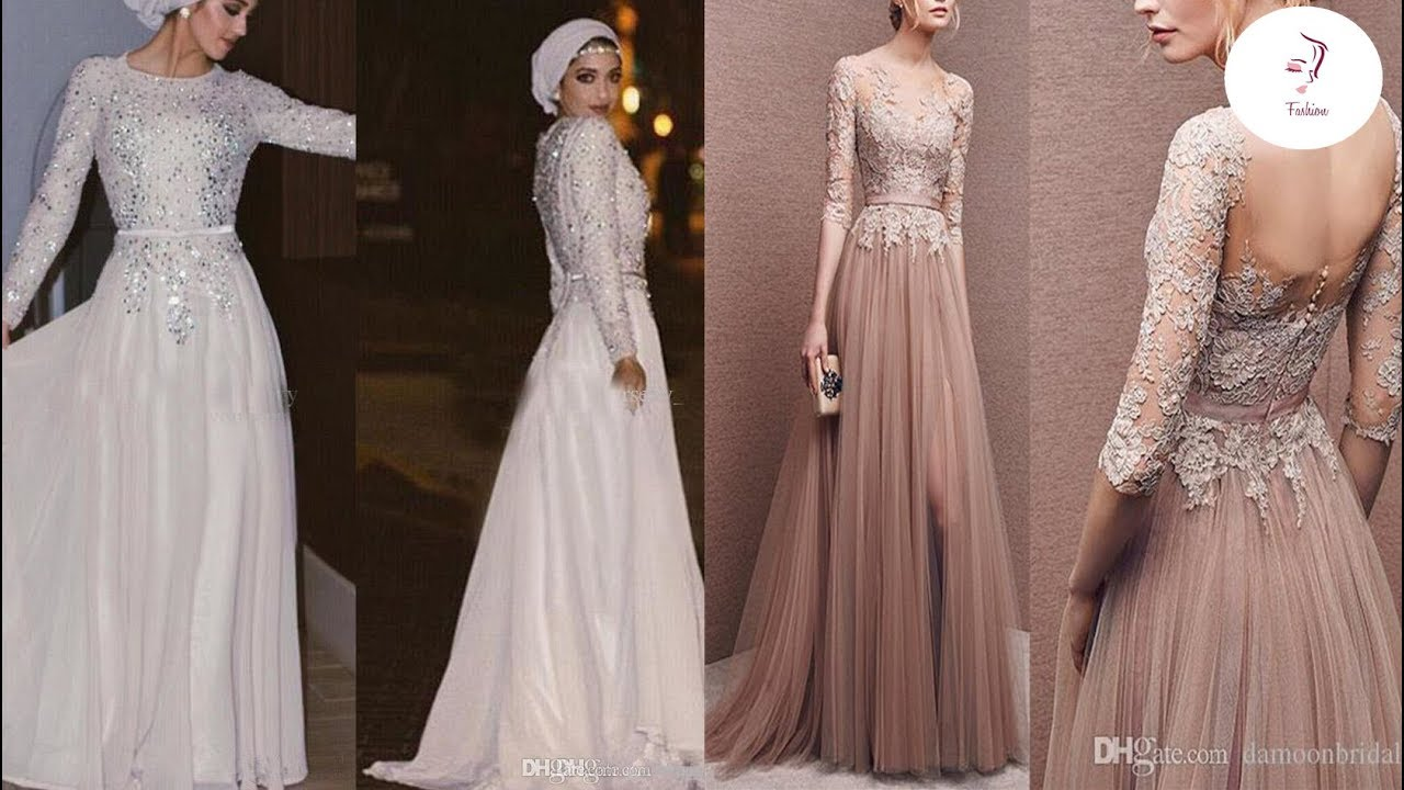 بالصور اخر موديلات الفساتين , احلي صور فساتين 4984 7