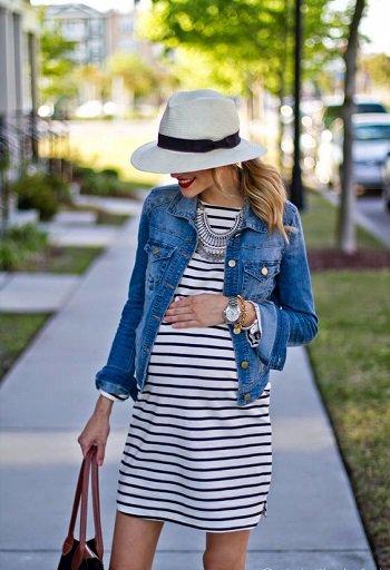 بالصور ملابس الحوامل , اجمل لبس للحامل 5002 7
