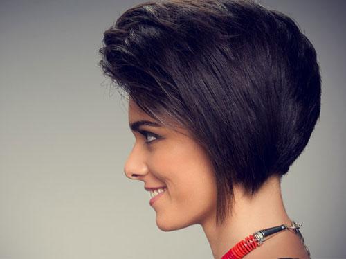 صور اجمل تسريحات الشعر القصير , اروع قصات شعر مميزة