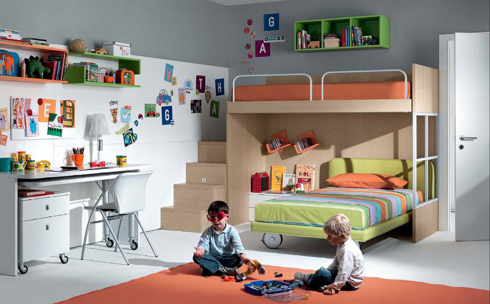 بالصور غرف نوم للاطفال , احدث غرف نوم للصغار 5142 11