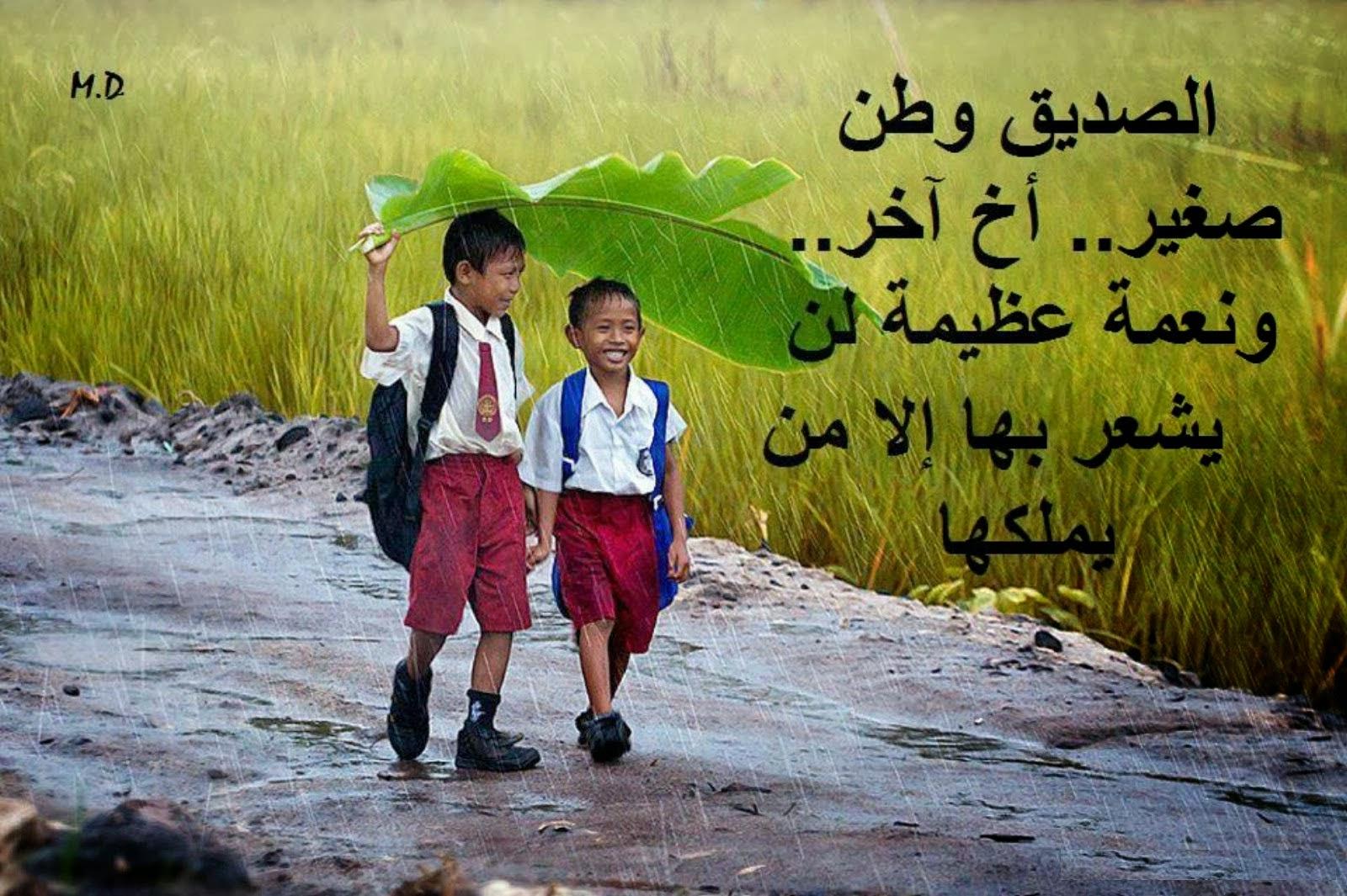 بالصور كلمات جميلة عن الصداقة , الصداقة من اسمى العلاقات 6215 9