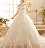 صور فساتين زفاف فخمه , اروع فساتين الزفاف الفخمة