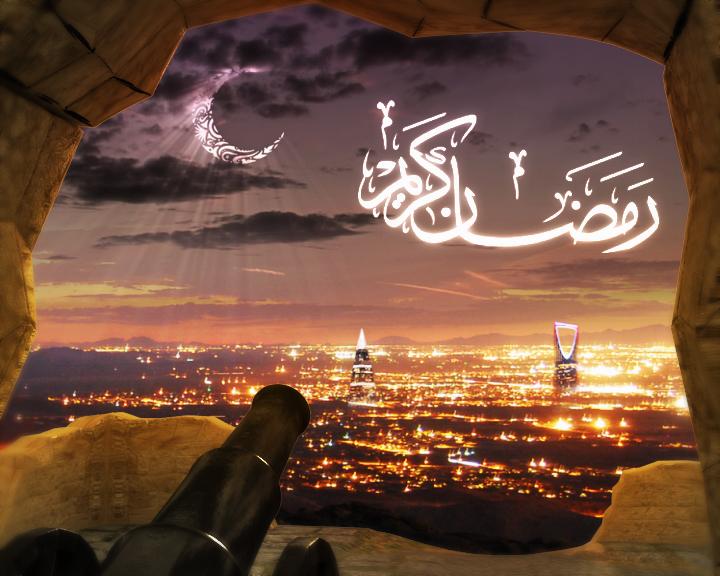 بالصور تهنئه برمضان , تهاني رمضانيه للاقارب والاحباب 1035 4