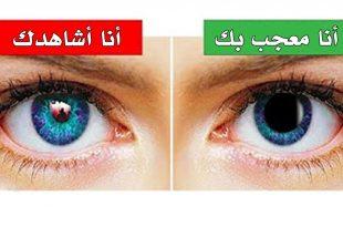 صوره كيف تعرف ان شخص يحبك من عيونه , تعلم لغة العيون لتعرف من يحبك