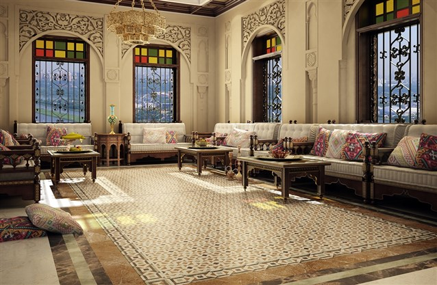 بالصور جلسات عربية , اروع تصميمات الجلسات العربية 3829 1