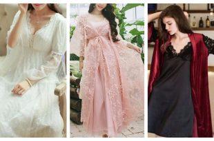بالصور ملابس نوم نسائية , اجمل موديلات ملابس النوم الحريمي 3933 9 310x205