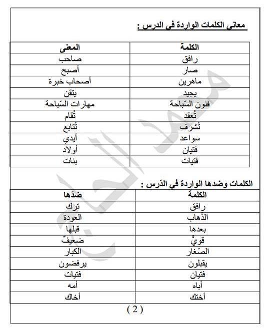 بالصور معاني الكلمات عربي عربي , مصطلحات عربية قديمة ومعناها 4068