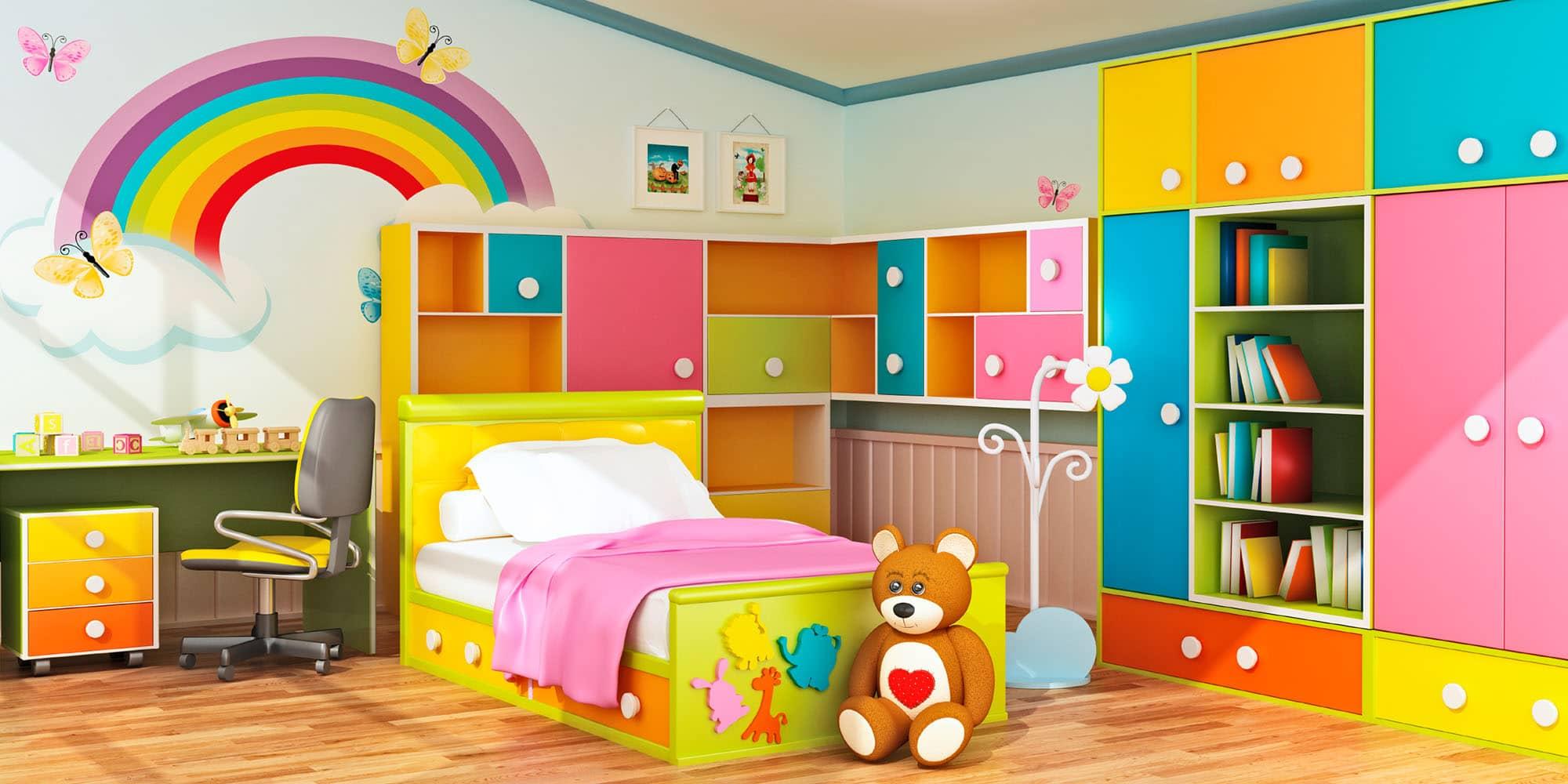 صورة غرف اطفال مودرن , تصاميم غرف مميزة 5259 6