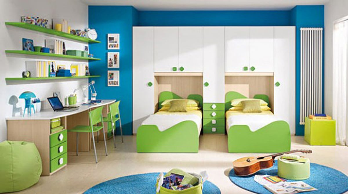 صورة غرف اطفال مودرن , تصاميم غرف مميزة 5259 7