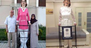 صوره اطول امراة في العالم , ما هي اطول امراه في العالم