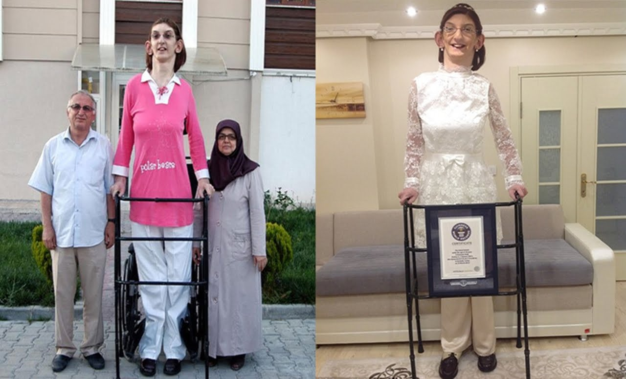 صورة اطول امراة في العالم , ما هي اطول امراه في العالم