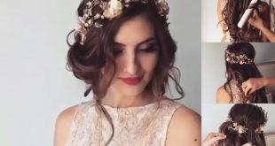 صوره تسريحات شعر عروس , اجمل تسريحات لشعرك يا عروسة