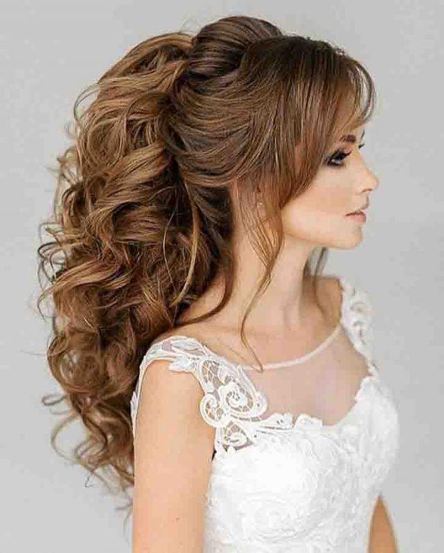 f19d4156e تسريحات شعر عروس , اجمل تسريحات لشعرك يا عروسة - مساء الورد