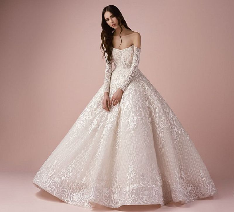 354914f361a6a صورة بدلة عروسه. صور صور بدلات عرايس