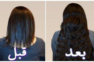 صورة وصفات لتطويل الشعر , اروع الوصفات لتطويل الشعر