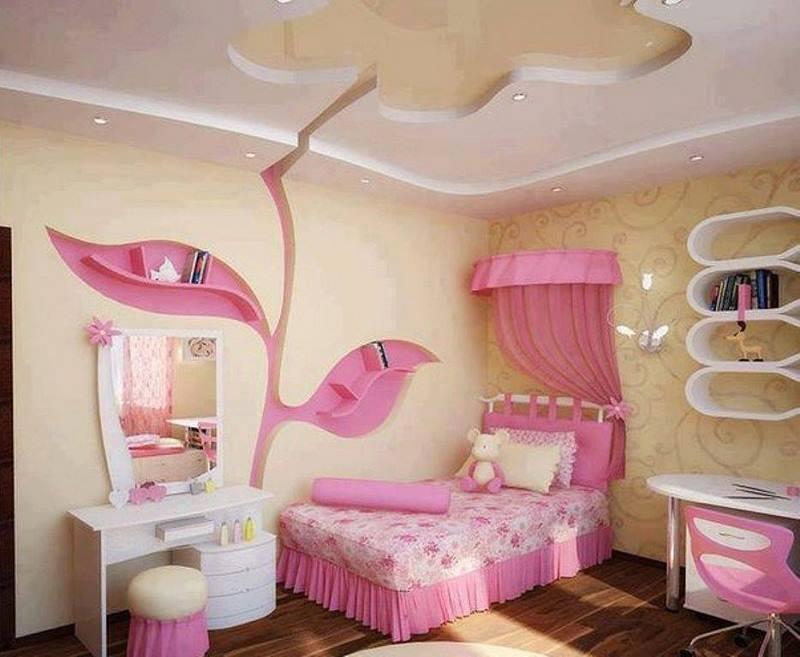 صورة ديكور غرف نوم بنات , اروع ديكورات غرف النوم للبنات