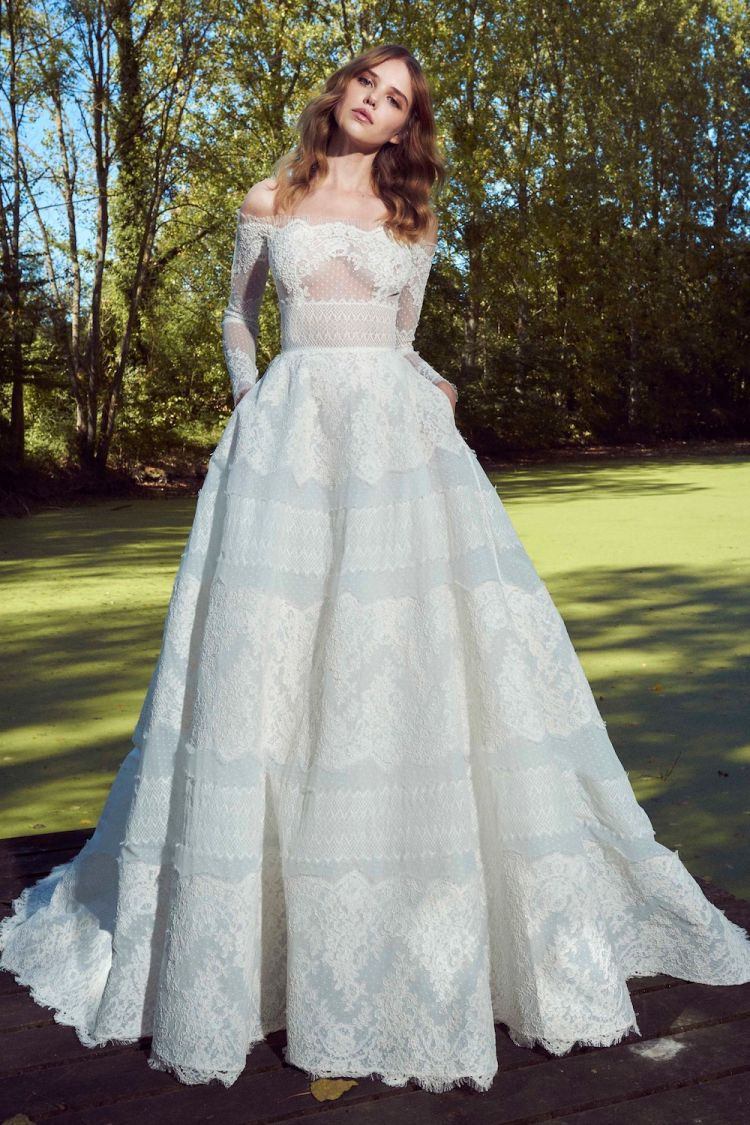 صور فساتين زفاف زهير مراد 2019 , فساتين زفاف زهير مراد واجمد فساتين