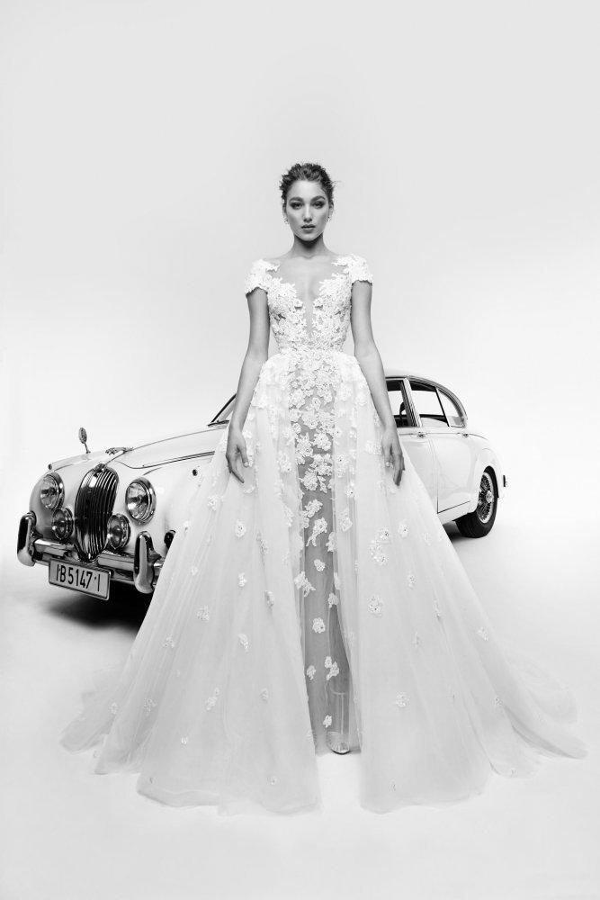 بالصور فساتين زفاف زهير مراد 2019 , فساتين زفاف زهير مراد واجمد فساتين 5814 11
