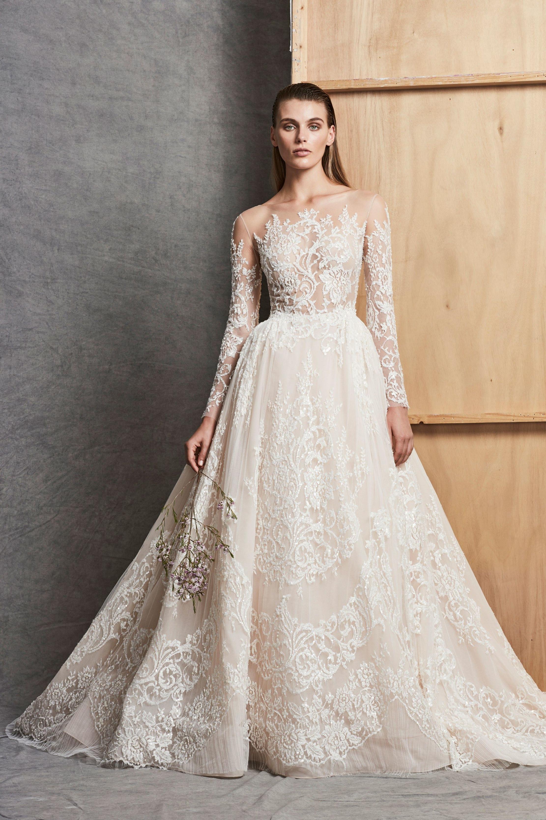 بالصور فساتين زفاف زهير مراد 2019 , فساتين زفاف زهير مراد واجمد فساتين 5814 12
